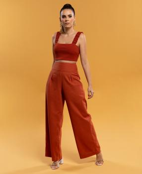 Calça Pantalona Clara