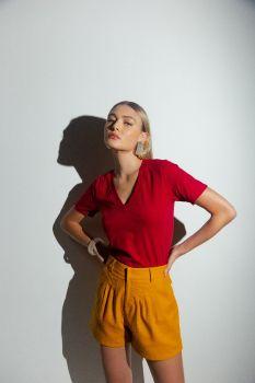 Blusa Essencial Joy Vermelha
