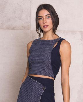 Blusa Bruna Tweed